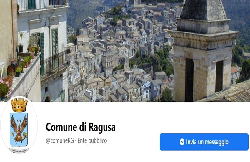 Il Comune di Ragusa sempre più vicino ai cittadini: da oggi attivo un nuovo servizio di chat su Facebook per segnalazioni e informazioni