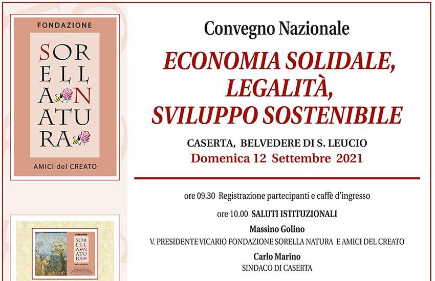 A Caserta un dibattito sulla transizione ecologica della Fondazione Sorella Natura