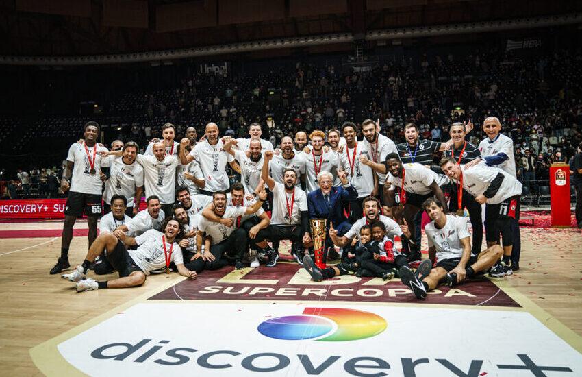 La Virtus Bologna batte Milano e vince la Supercoppa
