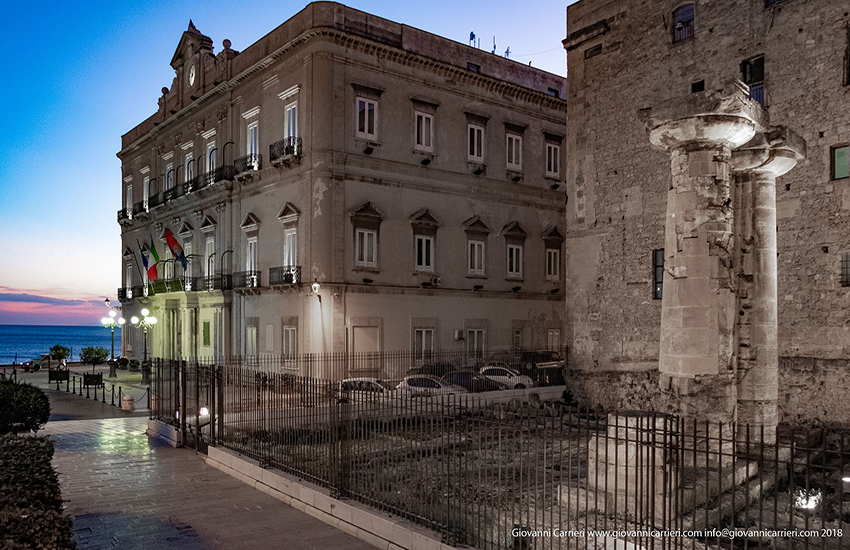 Taranto palazzo di ciittà