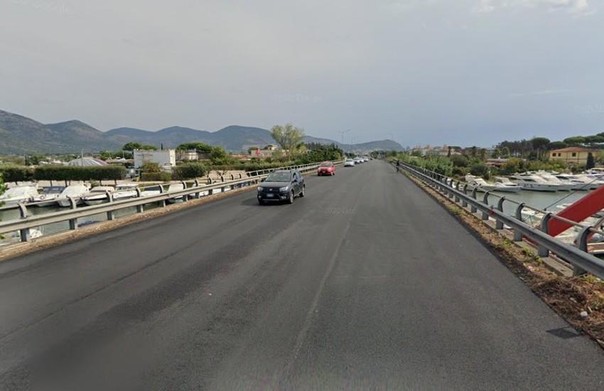 Terracina, chiusa per sei mesi la via Pontina per lavori da parte di Anas