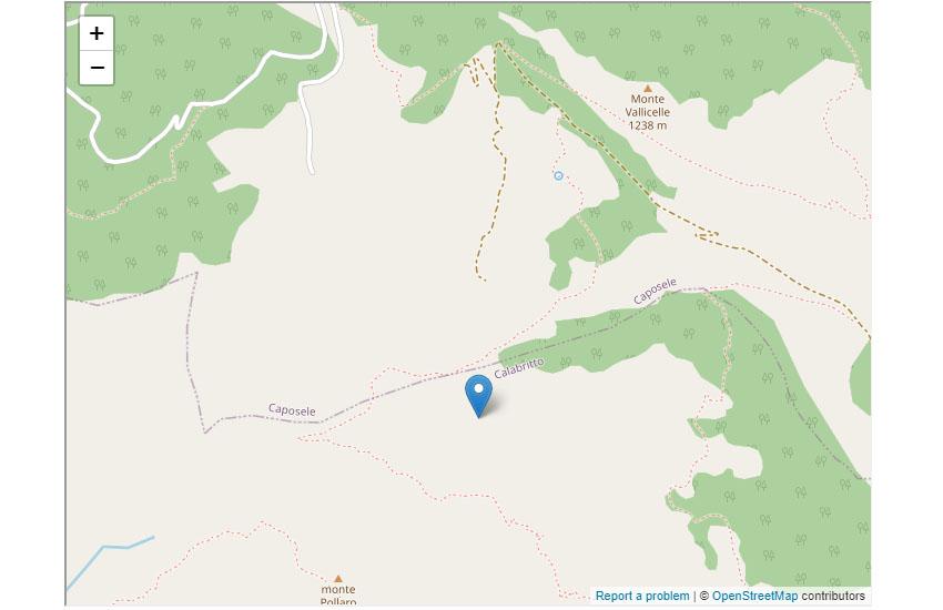 Sciame sismico in Irpinia