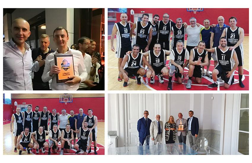 """Torneo forense di basket: magistrati e avvocati """"insieme per non dimenticare"""""""