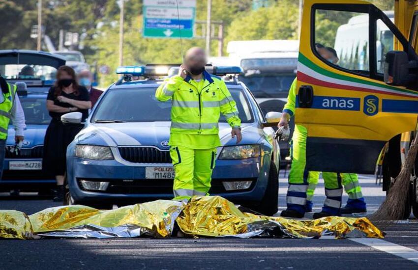 Incidente mortale su via Anagnina, 37enne travolto e ucciso da auto pirata