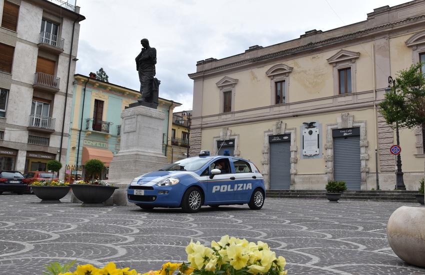 """Sulmona, soggetti """"turbolenti"""": una condanna definitiva e un Daspo Willy"""