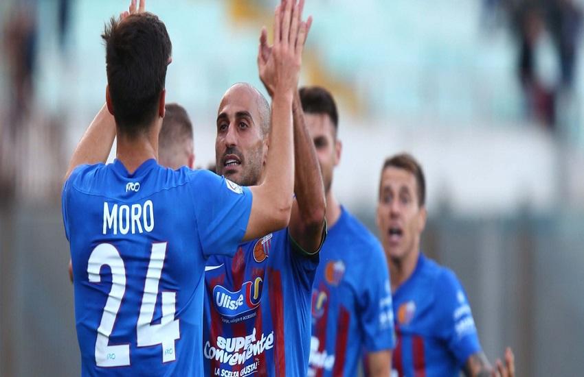 Calcio Catania, intervento in artroscopia riuscito per Antonio Piccolo