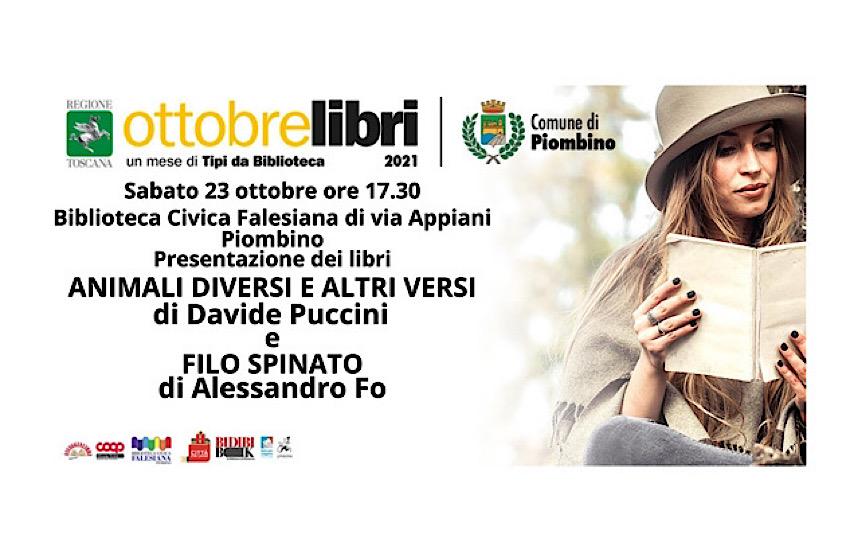 Sabato 23 ottobre alle ore 17.30 alla sala conferenze della Biblioteca Civica Falesiana di via Appiani