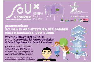 A Piombino la prima scuola di architettura per bambini in Italia