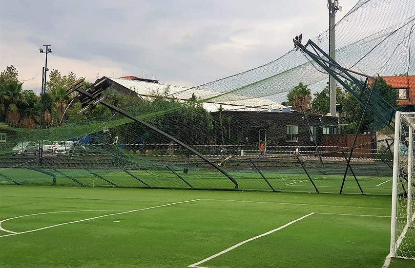 """Maltempo a Catania: """"I bambini della scuola calcio salvati per miracolo"""""""