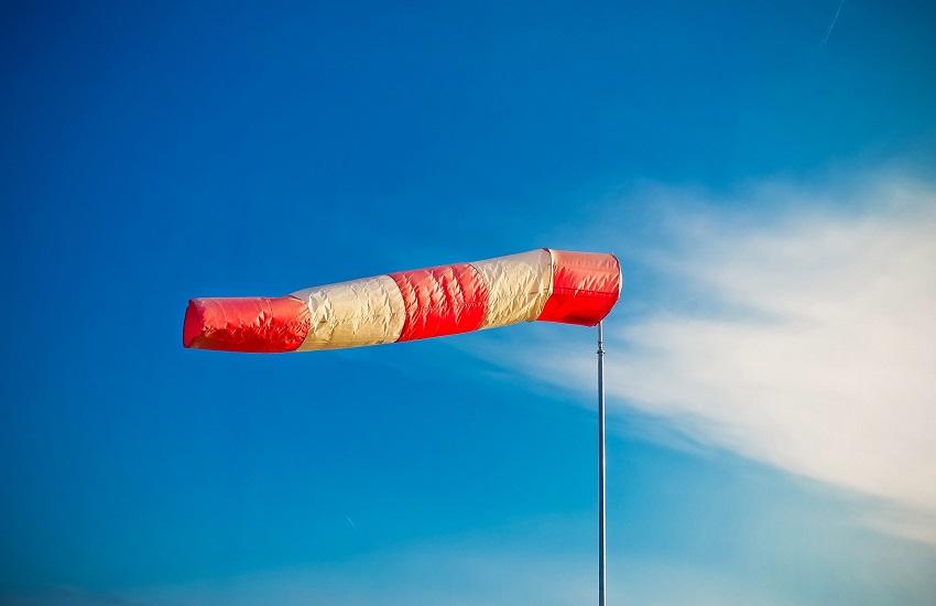 Codice giallo per rischio vento forte