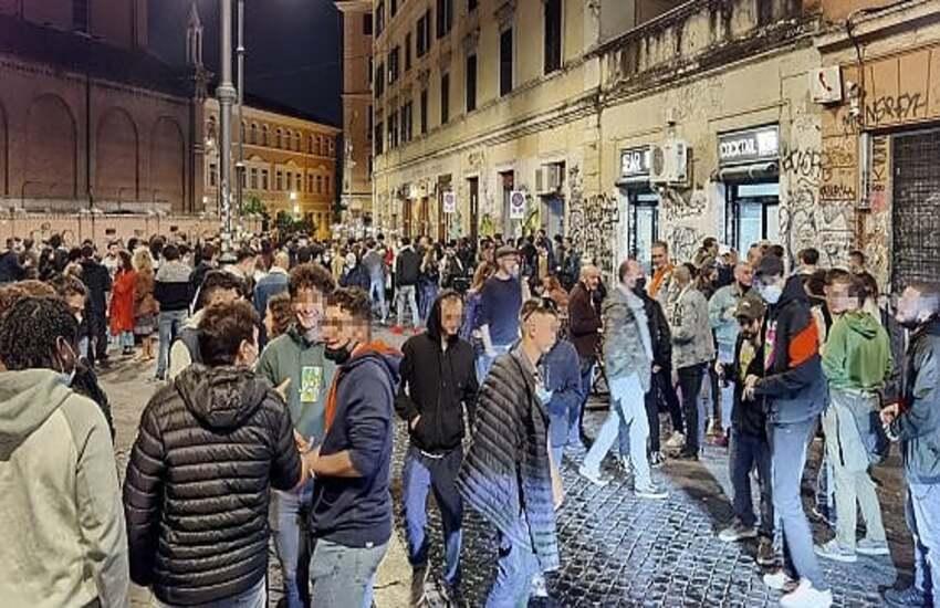 Movida romana, blitz dei carabinieri: chiusi 5 locali per assembramenti