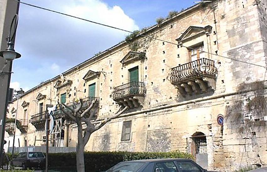 Scordia: la Regione acquista Palazzo Branciforte