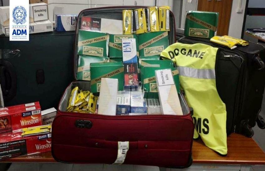 """Sigarette di contrabbando: 2220 """"bionde"""" destinate alla vendita senza permesso"""